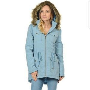 Jackets & Blazers - NwT blue winter coat